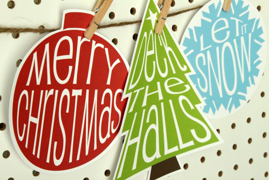 21 Free Christmas Printables - Crafted by Lindy
