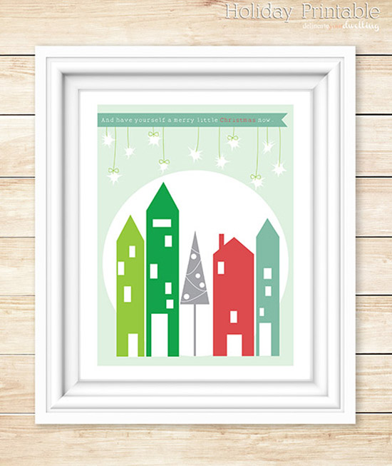 21 Free Christmas Printables - Delineate
