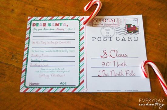 21 Free Christmas Printables - Everyday Enchanting