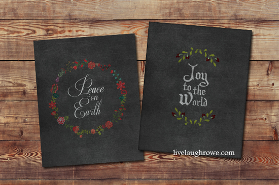 21 Free Christmas Printables - Live Laugh Rowe