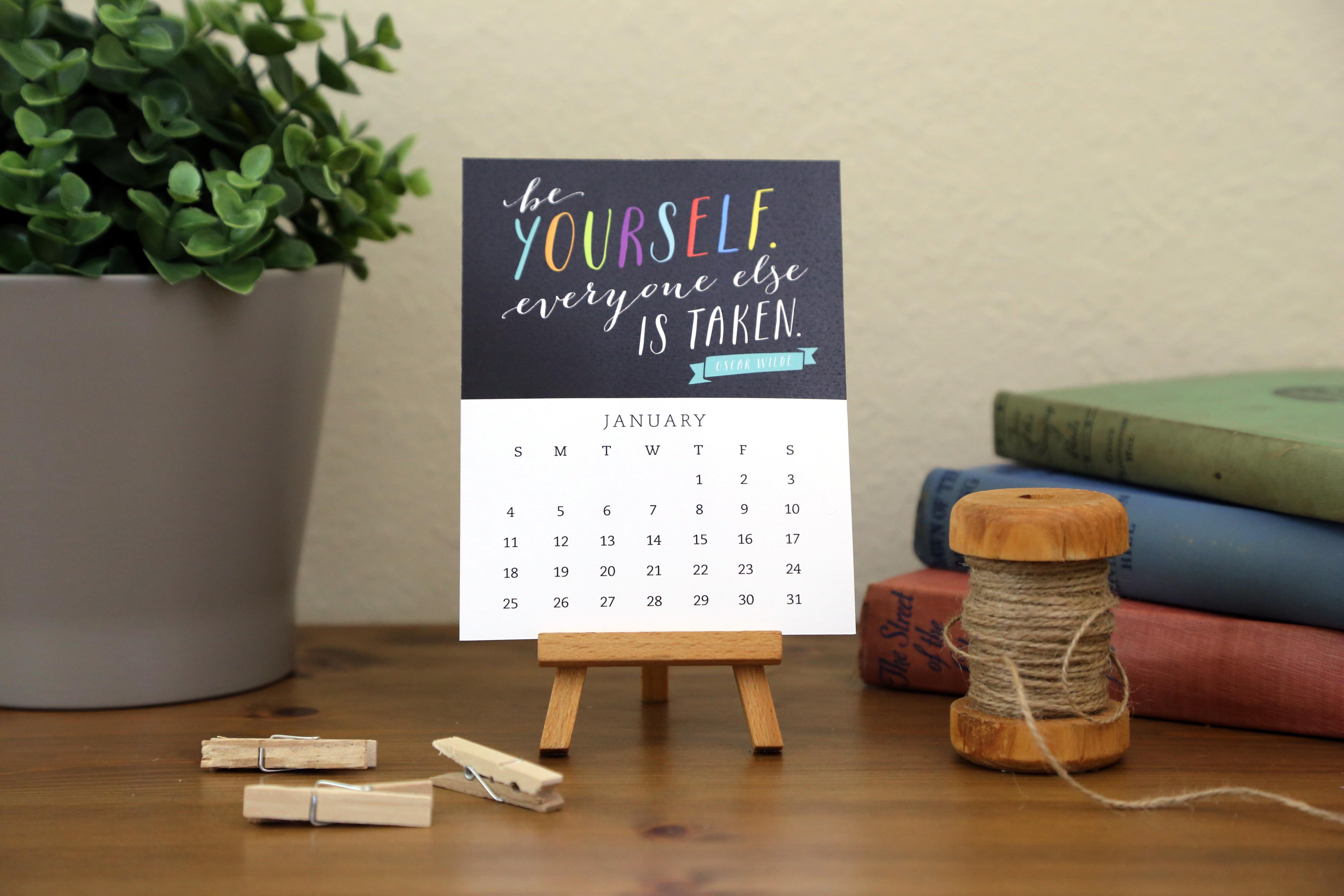 Enchanted Prints 2015 Calendars - Motivational