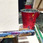 Painting night with the creative and adventurous members of my…