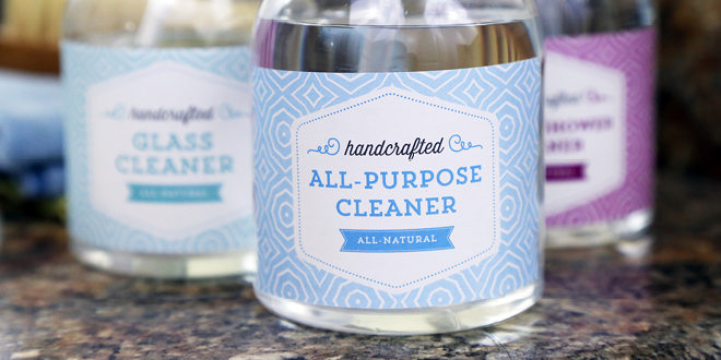 Free Printable Cleaning Labels from Elegance and Enchantment