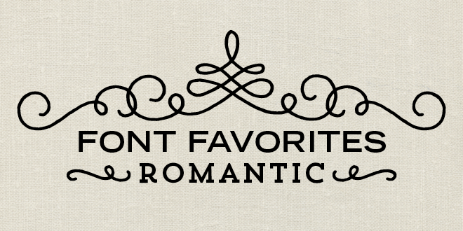 Font favorites archives elegance enchantment