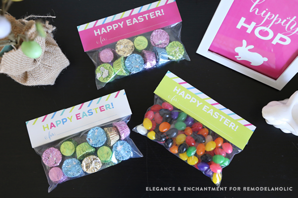 Free Printable Easter Treat Bag Toppers by Elegance & Enchantment for Remodelaholic