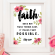 Faith makes things possible Printable