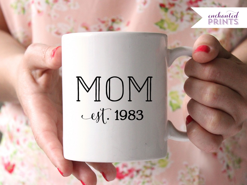 12 mugs for mother 39 s day for Great present for mom