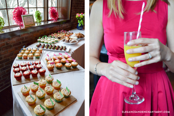 a classic kate spade style bridal shower inspiration for planning a perfectly preppy event