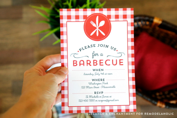 celebrate summer with a good old fashioned barbecue download this free printable bbq invitation and