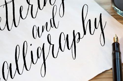 Join the Elegance and Enchantment Creative Challenge for Month 6 - Hand Lettering and Calligraphy! If calligraphy isn't your thing, you can join in on one of the other creative projects that we will be challenging ourselves to throughout the year!