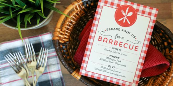 Free Printable Barbecue Invitations