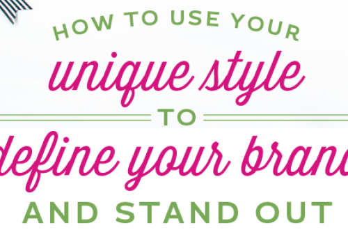 How to use your unique style to define your brand and stand out in a crowd. Kiss competition goodbye by asking yourself these ten simple questions that will help you to develop a style that will set you apart from everyone else. A great business building and defining exercise for creatives, graphic designers, bloggers, entrepreneurs and small business owners. // From Elegance and Enchantment
