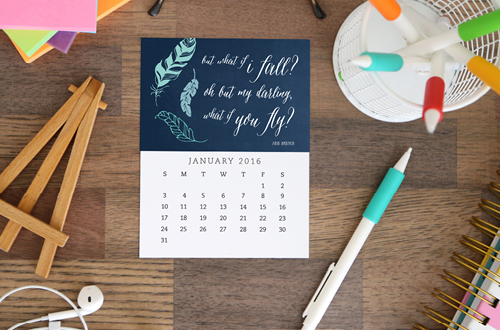 Place your vote for your favorite 2016 desk calendar design from Elegance & Enchantment and Enchanted Prints. The design with the most votes will be shared as a free printable download on Tuesday, December 1, 2015. Options include two motivational - inspirational calendars, two scripture - bible verse calendars and one modern chevron design. These calendars make super easy and inexpensive holiday gifts and look beautiful on your desk.