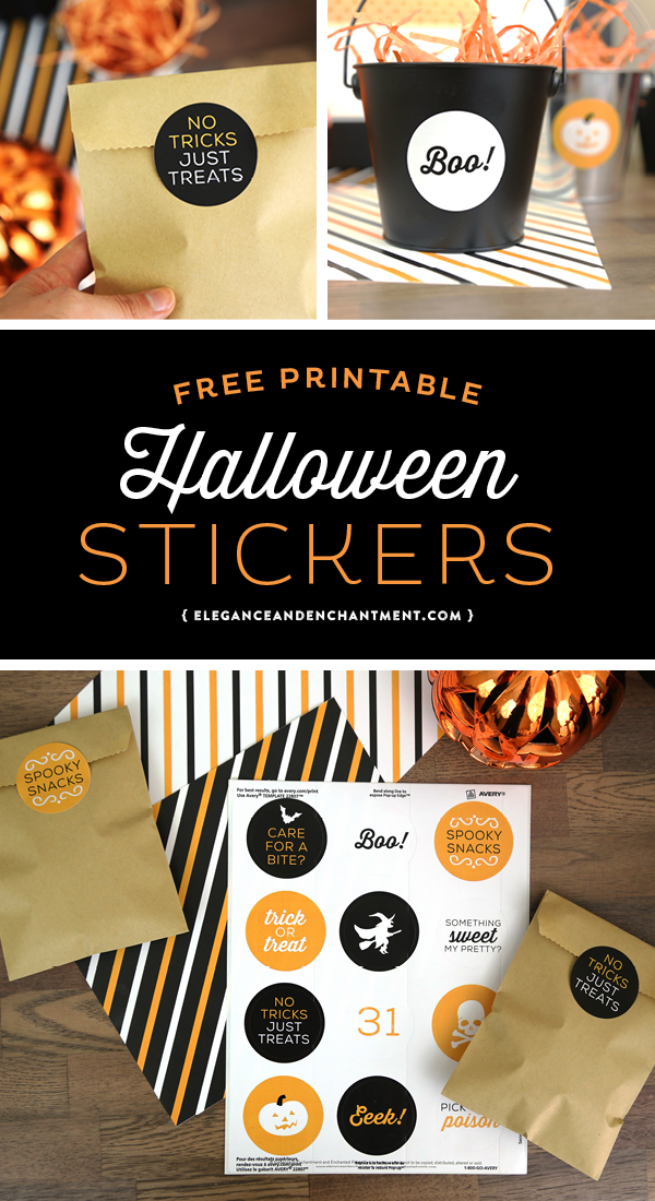 photograph regarding Avery Printable Stickers referred to as Free of charge Printable Halloween Stickers in opposition to Avery