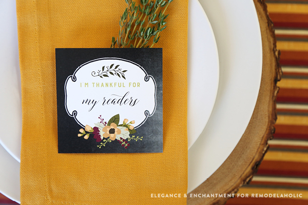free printable i am thankful for cards for thanksgiving dinner print cards