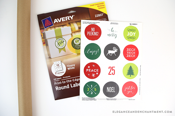 graphic about Printable Christmas Stickers called Printable Xmas Stickers