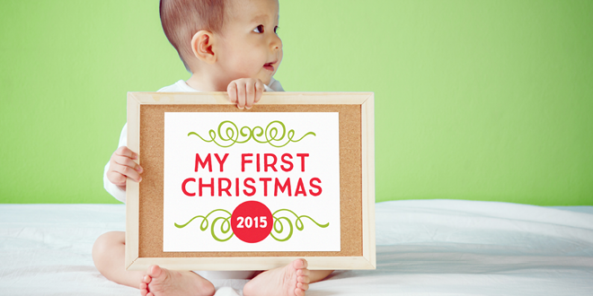 Free Printable Baby's First Holiday Signs
