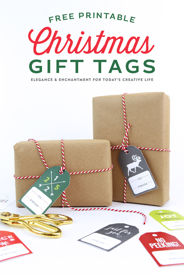 free printable christmas gift tags make holiday wrapping and packaging easy and fun simply download