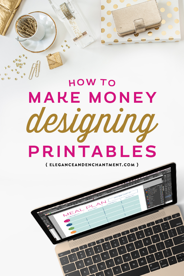 How to make money designing printables michellehickey design for Craft businesses that make money