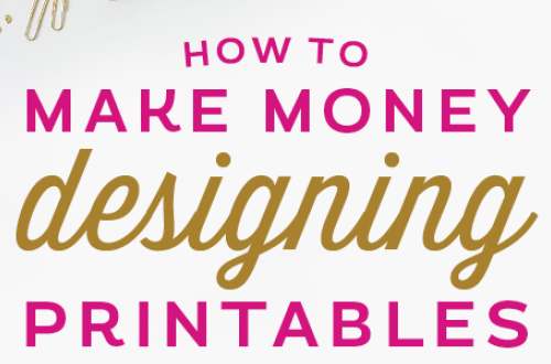 Is it really possible make a career out of designing printables? You bet! Here are 10 ways to make money and build a creative business built on the foundation of printable design. From Elegance and Enchantment.