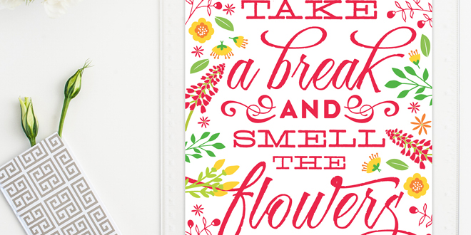Printable Inspirational Quote
