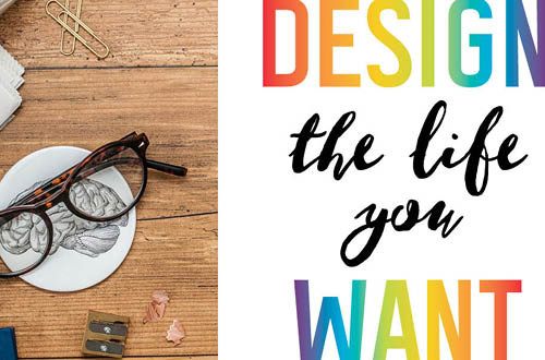 "Your weekly free printable inspirational quote from Elegance and Enchantment! // ""Design the life you want."" // Simply print, trim and frame this quote for an easy, last minute gift or use it to update the artwork in your home, church, classroom or office. #enchantingmondays"