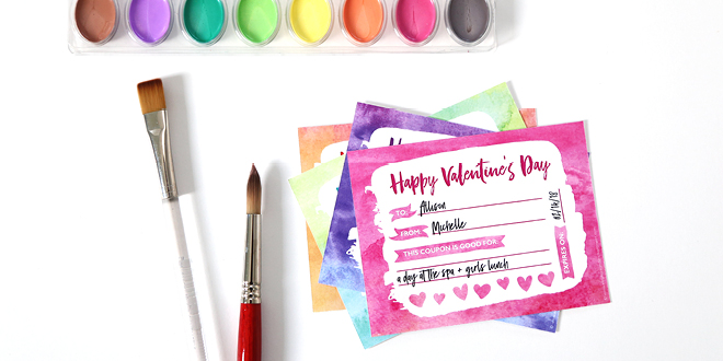 Free Printable Valentine's Day Coupons and Stickers