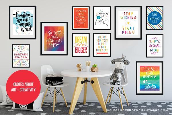 Classroom Gallery Wall Ideas A Free Printable Elegance Enchantment