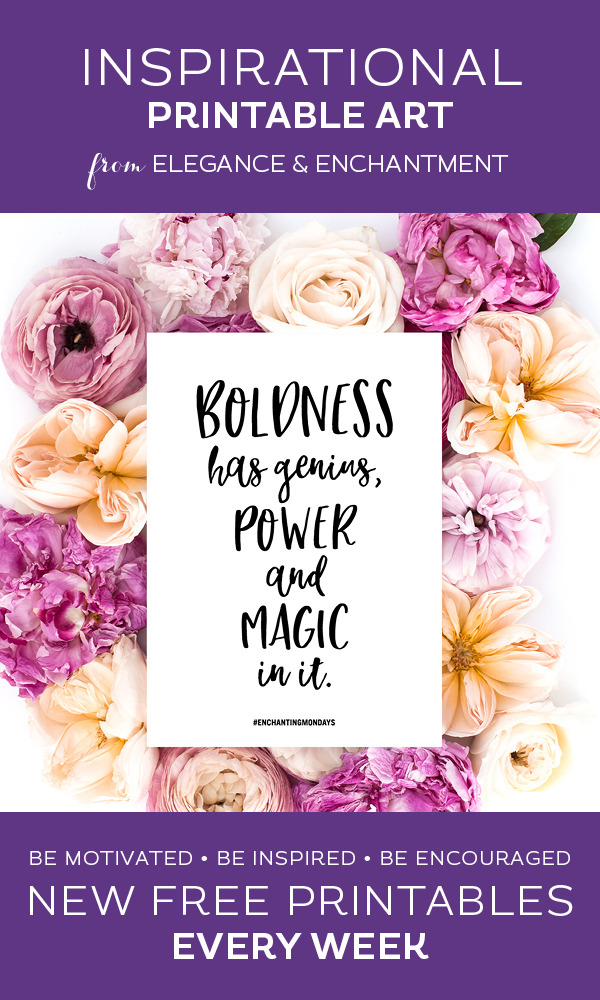 image about Free Printable Quotes Black and White named Boldness Estimate Black and White Artwork Printable - Beauty
