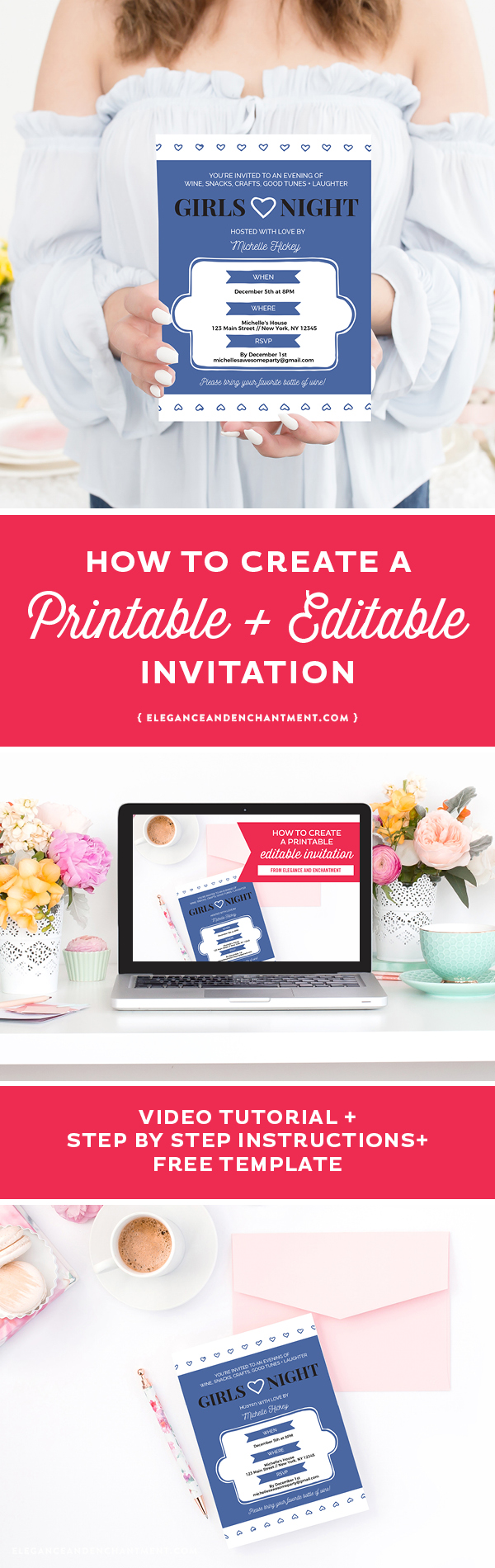 image about How to Create a Printable named How towards acquire a printable editable invitation - Beauty