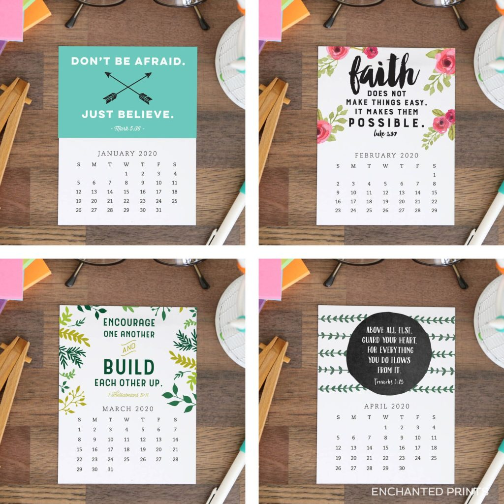 No procrastinators guilt here. In this post, you'll find the perfect last-minute printable gift idea for everyone on your list. // From Enchanted Prints #lastminutegift #printablegifts
